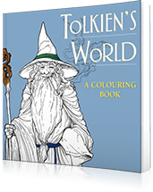 Tolkiens World Colouring Book - Hive Books