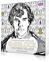 Sherlock Colouring Book - Hive Books