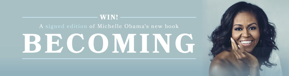 Enter our Michelle Obama Competition