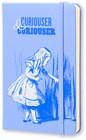 Moleskine Alice In Wonderland Limited Edition Blue Hard Plain Pocket Notebook - Book - 1