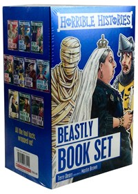 HORRIBLE HISTORIES 10 BOOK BOX SET, Paperback